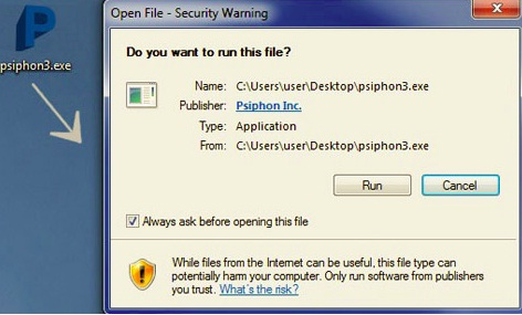 دانلود وی پی ان و فیلترشکن جدید بنام سایفون 3  Gajamoo
